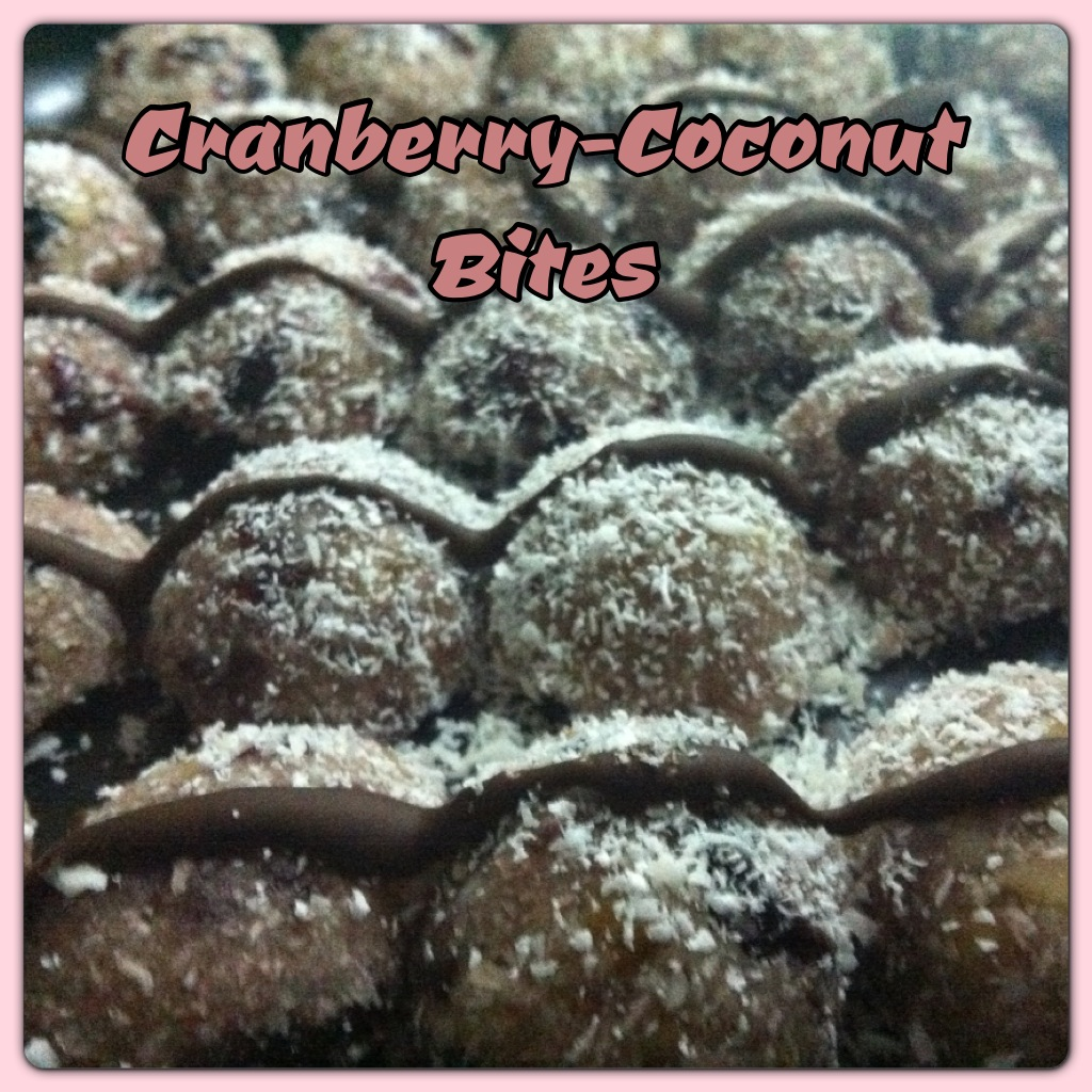 Vegan Cranberry – Coconut bites